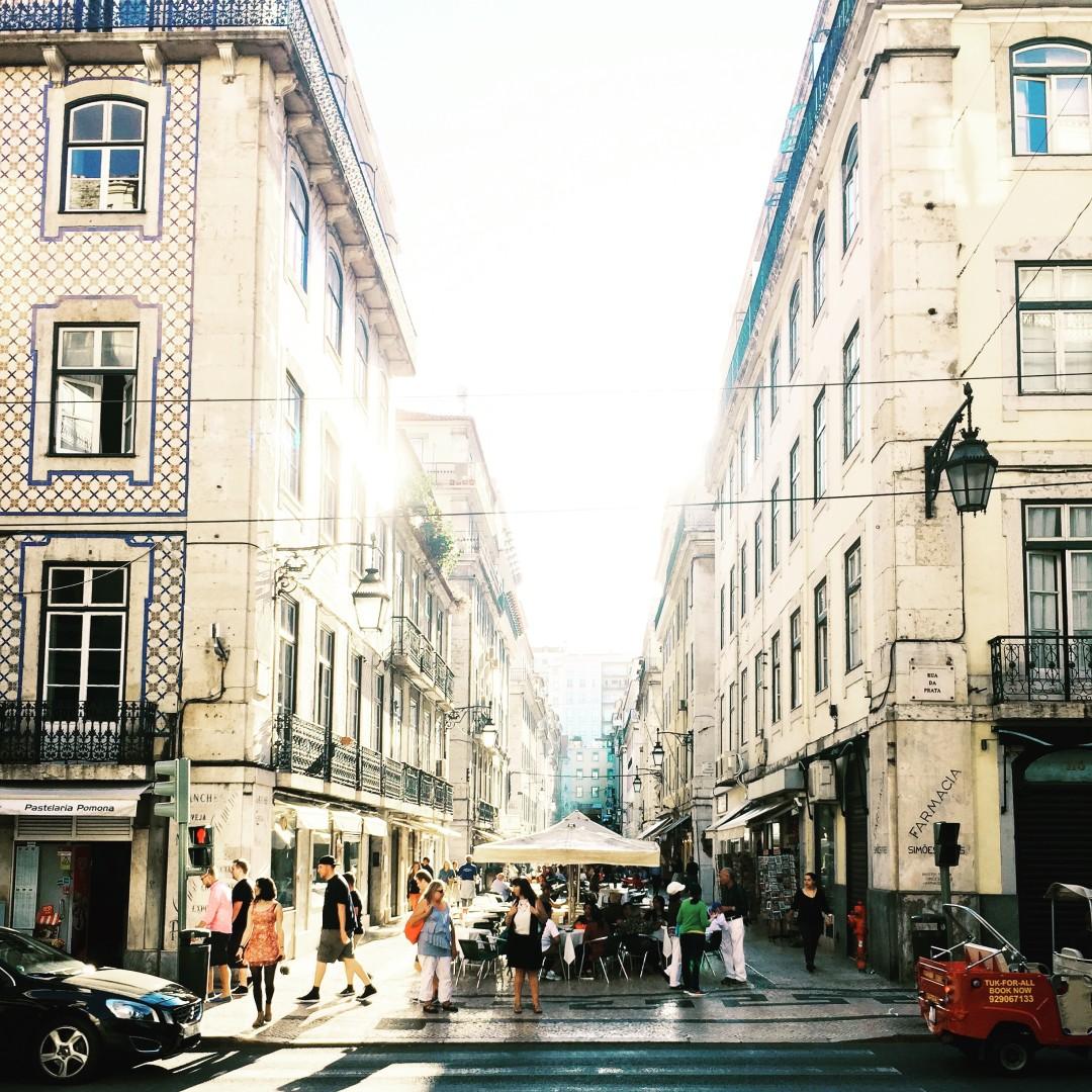 My street in Lisbon