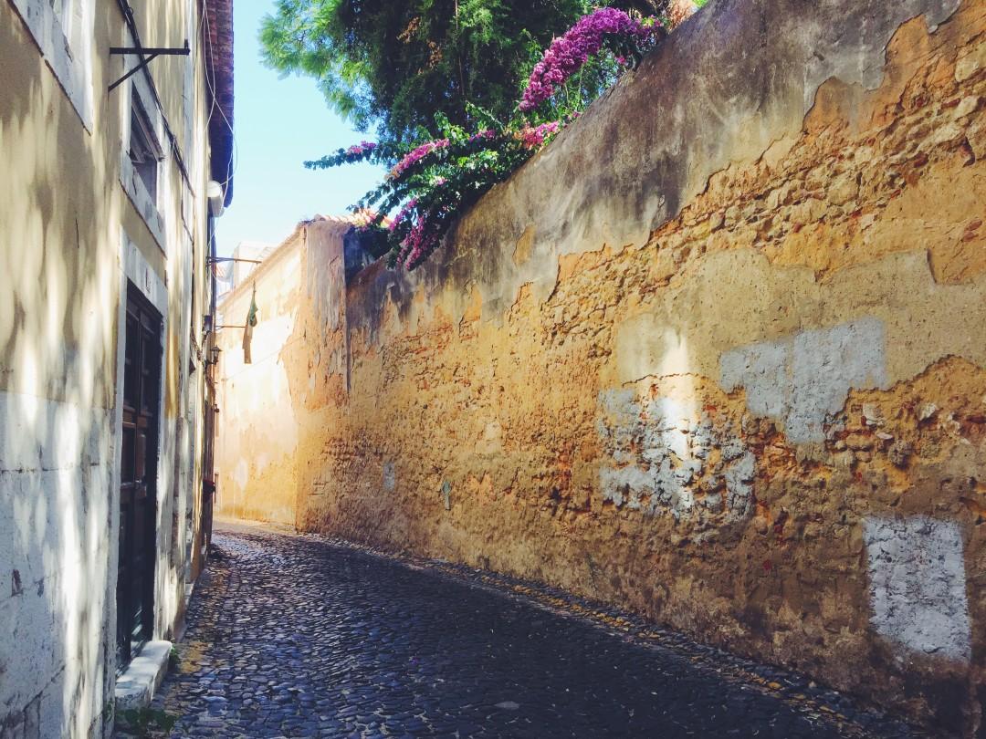 Side street in Alfama