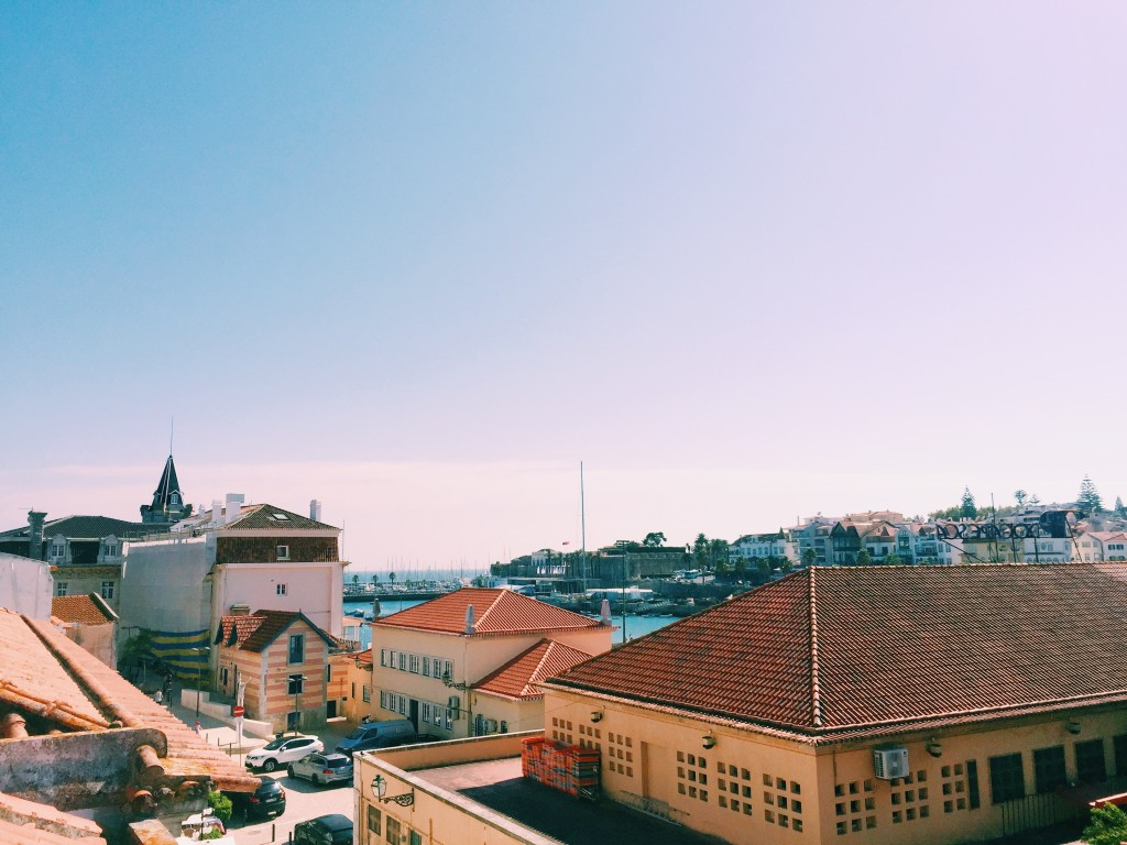 View from the rooftop at Cafe Caleria