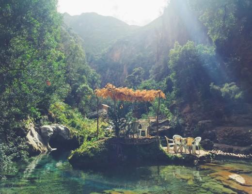 Floating river island of legend