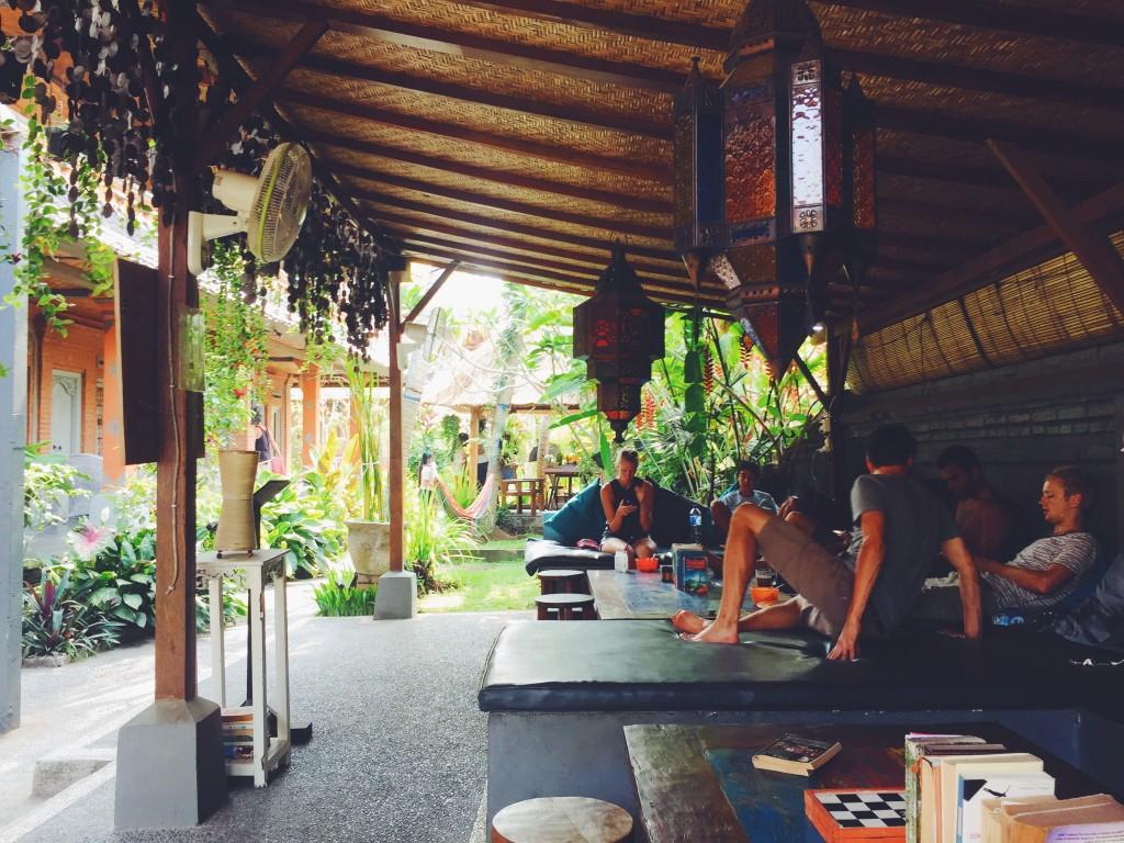 Chill space at In Da Lodge