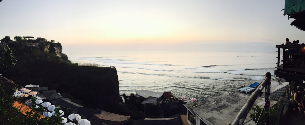 Non sunset sunset from Single Fin in Uluwatu
