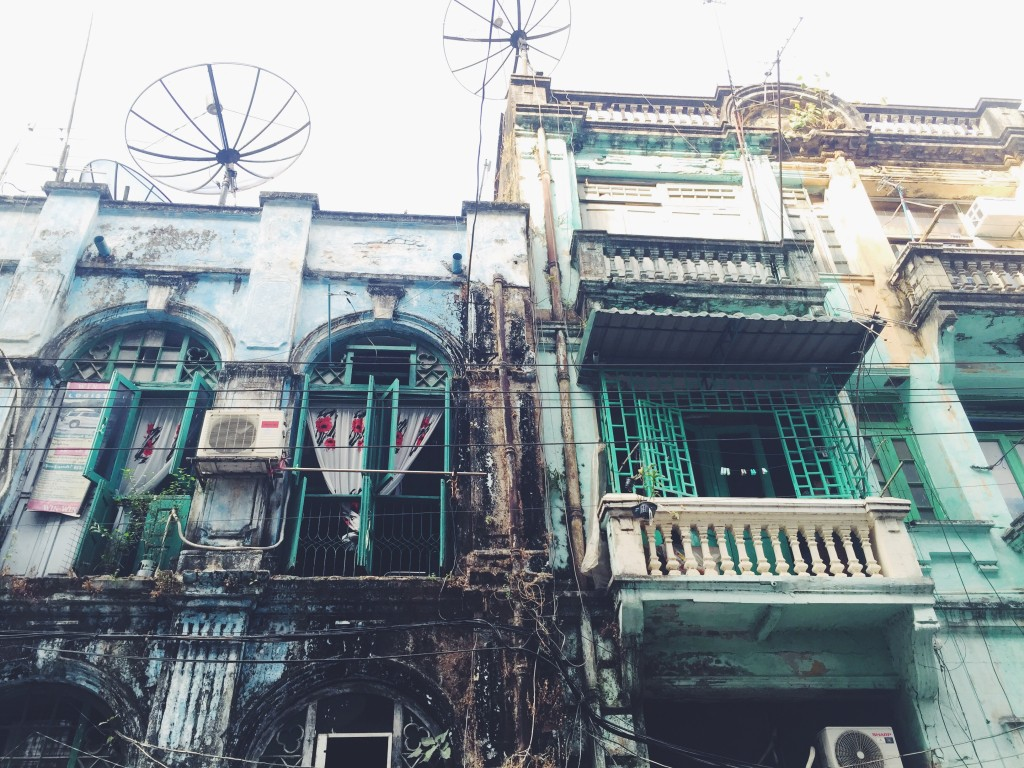 Colonial architecture in Yangon