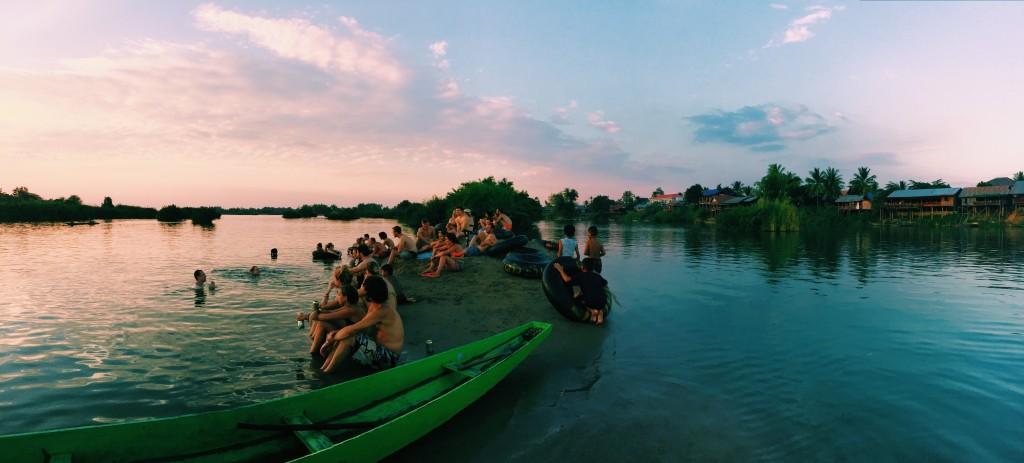 Sunset on Monkey Island