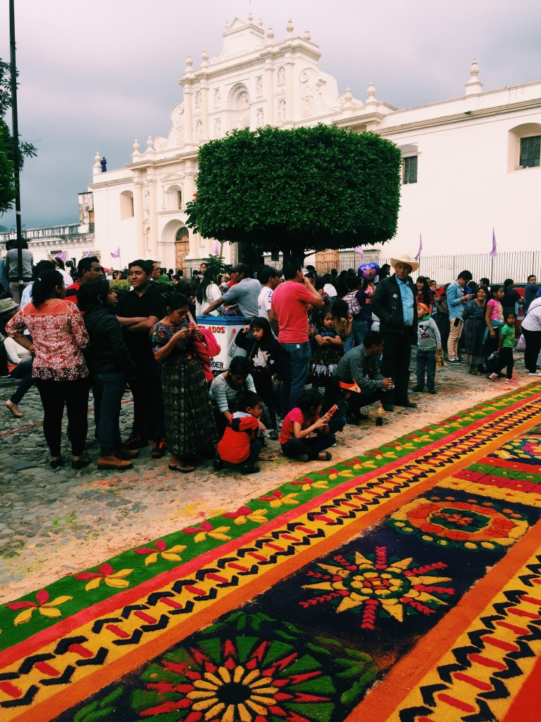 Alfombra in the main square