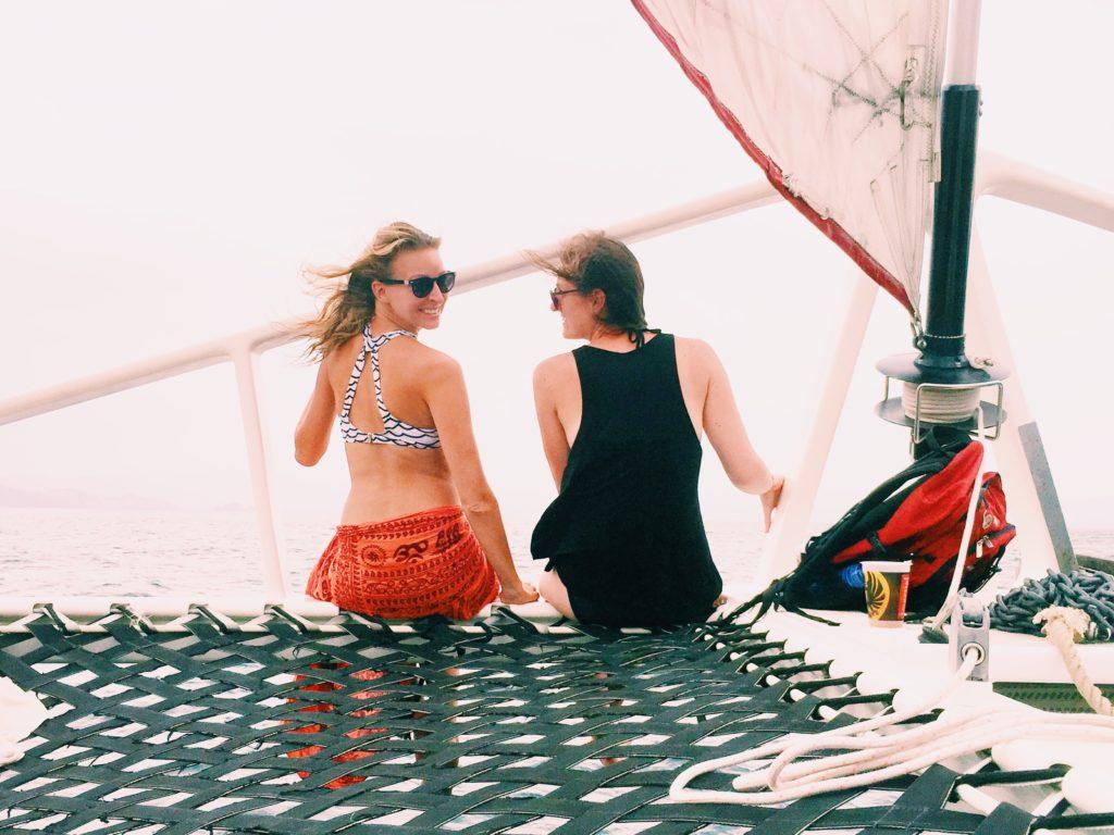 Cruisin' around the Pacific