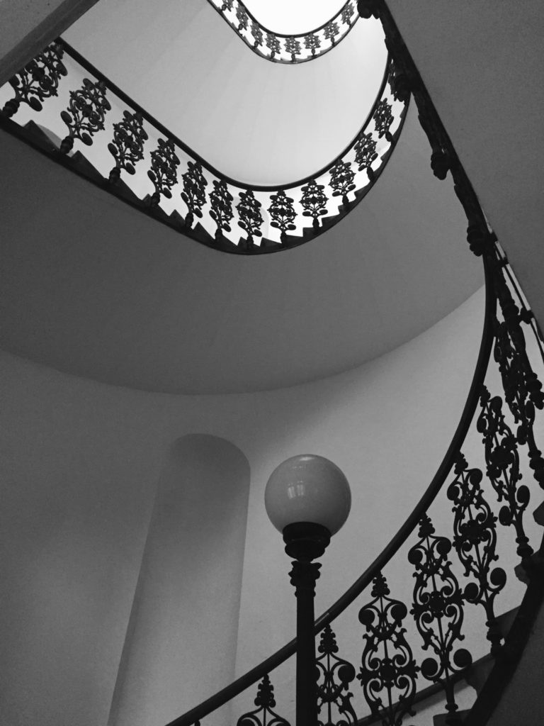 Stairwell at the office